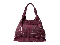 Sam Edelman Emily Studded Bucket Portwine Handbags Red