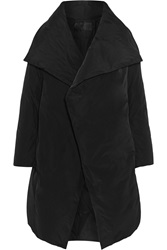 Donna Karan Padded Shell Coat Black