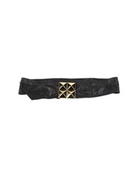 Space Style Concept Belts Black