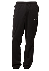 Puma Tricot Tracksuit Bottoms Blackwhite