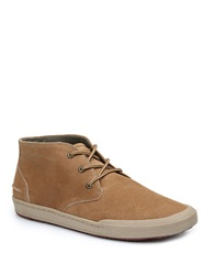 Bass Hendrix Lace Up Ankle Boots Taupe