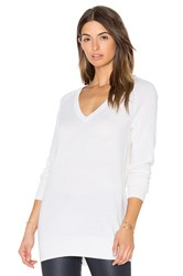Equipment Asher V Neck Sweater Ivory