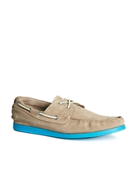 Selected Homme Philip Boat Shoes Grey