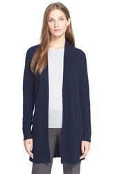 Theory 'Analiese' Open Front Cashmere Cardigan Deep Navy
