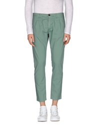 Individual Trousers Casual Trousers Men Green