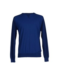M.Grifoni Denim Knitwear Jumpers Men Blue