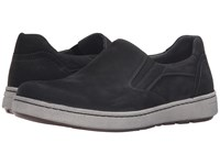 Dansko Viktor Black Milled Nubuck Men's Slip On Shoes