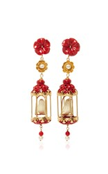 Of Rare Origin Ruby Aviary Classic Earring Coral