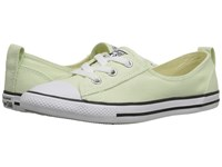Converse Chuck Taylor All Star Fashion Basics Ballet Lace Pistachio Green Black White Women's Lace Up Casual Shoes Beige