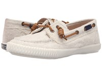 Sperry Sayel Away Hemp Canvas Natural Women's Moccasin Shoes Beige
