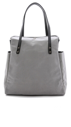 Southern Field Industries Waxed Canvas Px Tote Grey Black