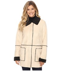 Pendleton Shannon Coat Soft Camel Faux Suede Women's Coat Neutral