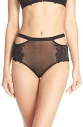 Honeydew Intimates Women's 'Erica' Cutout Hipster Briefs Black
