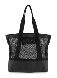 Topman Aaa Black Mesh Tote Bag