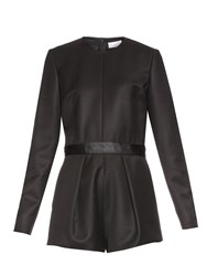Raey Tux Pleated Leg Playsuit