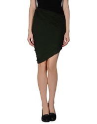 Surface To Air Knee Length Skirts Black