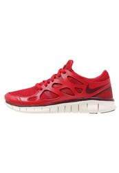 Nike Sportswear Free Run 2 Ext Trainers Gym Red Deep Granate Bright Crimson Sail