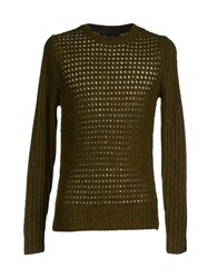 Karl Lagerfeld Knitwear Jumpers Men Dark Purple