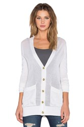 Atm Anthony Thomas Melillo Pointele Cardigan Ivory