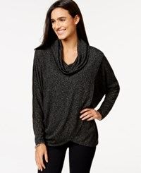 Styleandco. Style And Co. Draped Cowl Neck Top Only At Macy's Elegant Scroll