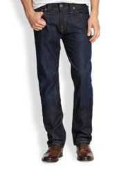 True Religion Ricky Straight Leg Jeans Wanted Man