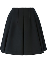 Dice Kayek Pleated Skirt Black