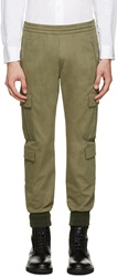 Neil Barrett Green Military Trousers