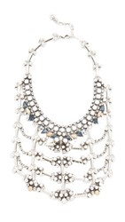 Dannijo Galileo Necklace Ox Silver Multi