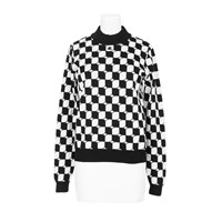 Courreges Sweater Black White