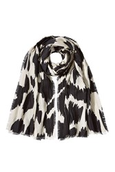 Burberry Shoes And Accessories Cashmere Wool Silk Printed Scarf Multicolor
