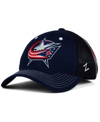 Zephyr Columbus Blue Jackets Screenplay Flex Cap