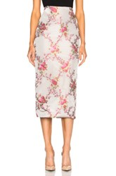 Brock Collection Snow Skirt In Pink Floral Pink Floral