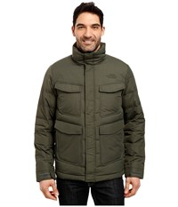 The North Face Talum Field Jacket Climbing Ivy Green Men's Coat Blue