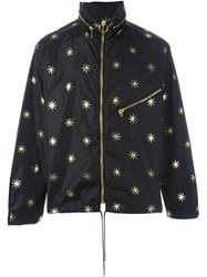 Palm Angels Stars Studded Jacket Black