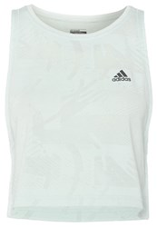 Adidas Performance Boxy Sports Shirt Vapour Green Mint