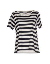 Essentiel Topwear T Shirts Women Dark Blue