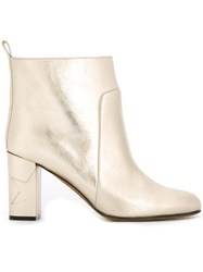 Golden Goose Deluxe Brand 'Anna' Ankle Boots Metallic