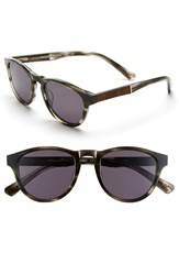 Men's Shwood 'Francis' 49Mm Sunglasses Pearl Grey Elm Burl Grey