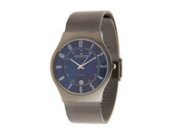 Skagen 233Xlttn Titanium Watch Grey Blue Analog Watches Gray