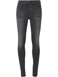 Citizens Of Humanity Washed Skinny Jeans Grey