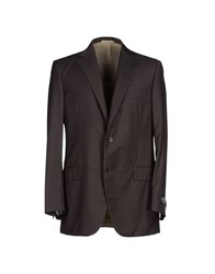 Belvest Suits And Jackets Blazers Men Dark Brown