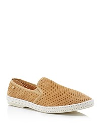 Rivieras Sultan 30 Perforated Slip On Sneakers Beige