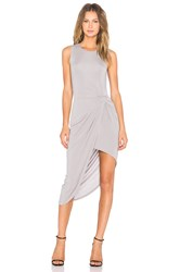 Lovers Friends X Revolve Jenna Wrap Dress Gray