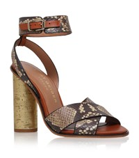 Kurt Geiger London Talbot Crossover Sandal Female Beige