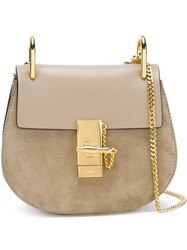 Chloe 'Drew' Crossbody Bag Nude And Neutrals