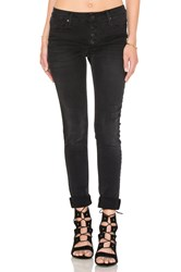 Black Orchid Candice Mid Rise Super Skinny Obsidian