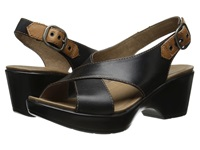 Dansko Jacinda Black Full Grain Women's Sling Back Shoes