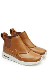 Nike Air Max Thea Mid Sneakers With Leather Brown