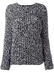 Iris Von Arnim Boat Neck Jumper Black