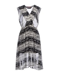 Andy Warhol By Pepe Jeans Knee Length Dresses White